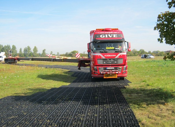 ecoraster in logistick